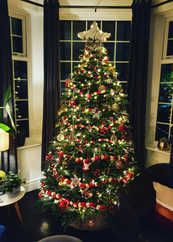 Flixton Garden Centre's 2019 Christmas Tree Competition winning entry