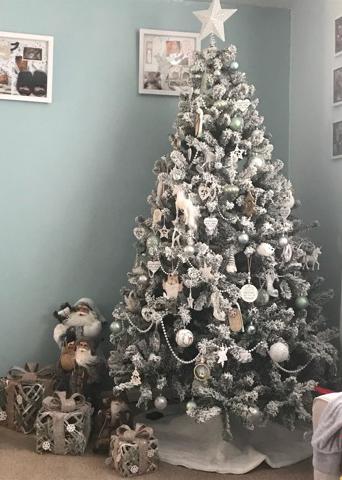 Anwick Garden Centre's 2019 Christmas Tree Competition winner